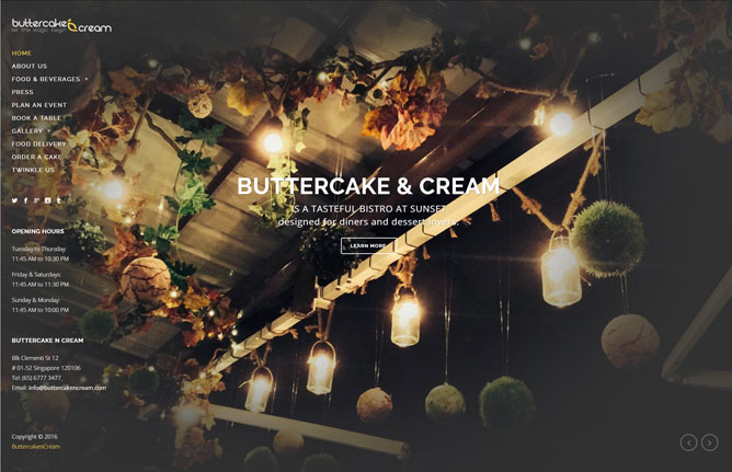website-design-butter-caken-cream